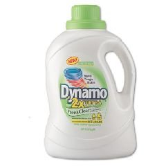 Dynamo 48116 100 Oz. 2X Ultra Liquid Laundry Detergent with Free and Clear Scent (Case of 4)