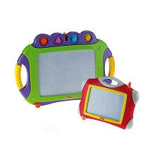 Fisher-Price Purple Doodle Pro with Red Traveler
