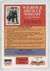 The Wright Brothers (Trading Card) 1992 Starline Americana #188