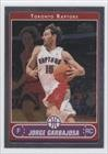 Jorge Garbajosa Toronto Raptors (Basketball Card) 2006-07 Topps Chrome #166