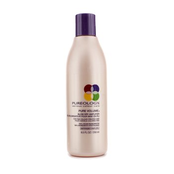 Pure Volume Blow Dry Amplifier (For Fine Colour-Treated Hair) 250ml/8.5oz (Pureology Hair Brush compare prices)