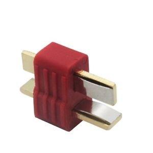 Nylon T-connectors Male (10pcs/bag) - Deans Compatible - 1