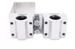 Reprap I3 3d Printer Parts X Axis Printing Head X Metal Exturder Carriage