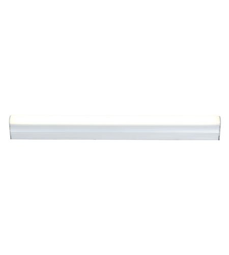 Access Lighting 780Ledstr-Alu Inteled 12-Inch 5W 3000K Led Linear Accent Lighting With Aluminum Finish And Frosted Acrylic Diffuser