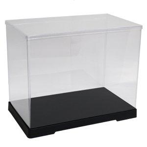32cm height [transparent case series] collection case horizontal width 40cm x 21cm x depth