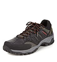 Blue Harbour Leather Trekker Shoes with Stormwear™