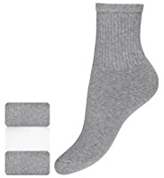 3 Pairs of Cotton Rich Sports Socks