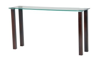 Derby clear glass Table 700mm x 700mm