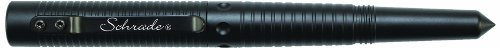 Schrade Scpen6Bk Survival Tactical Pen, Black