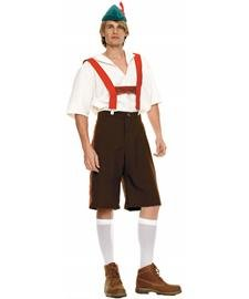 Leg Avenue Men's Lederhosen Costume