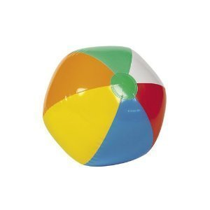 Inflatable 6-Color Beach Balls (1 dz)