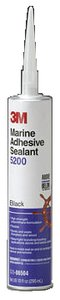 3M Marine 6504 5200 MARINE SEALANT BLACK MARINE 5200 ADHESIVE / SEALANT