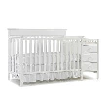 For sale Graco Lauren 4 in 1 Convertible Crib and Changer Combo - Classic