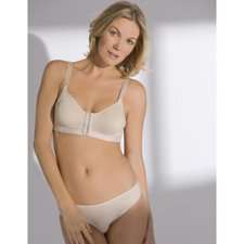 The Amazing Annette Renolife 10479 Post-Surgical Softcup Bra-Beige-34D