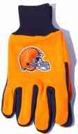 McArthur 10264 Adult's Cleveland Browns Knit NFL Logo Glove One Size