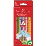 Grip Colored Ecopencils 12/Pkg-