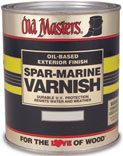 OLD MASTERS Boat Wood Finish SPAR-MARINE VARNISH 1 Quart GLOSS
