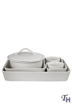 Gordon Ramsay Maze White 7-Piece Bakeware Set