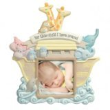 "Grasslands Road® 3-Inch X 3-Inch Noah's Ark ""For This Child I Have Prayed"" Photo Frame"