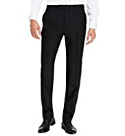 Sartorial Pure Wool Eveningwear Trousers