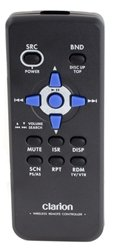 Clarion RCB176 Wireless Infrared (IR) Remote for Select Clarion Stereos