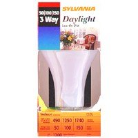Sylvania 18110 – 50/150/DAY Three Way Incandesent Light Bulb