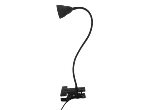 Lenbo Super Bright 3W Cob Led Desk Light 38Cm Flexible Tube Table Reading Lamp Clip Lights 3000K 6000K Choice Ld59 (Warm White)