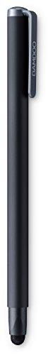 Wacom CS-190K Stylus Bamboo Solo 4 Penna Digitale Ergonomica per Tutti i Dispositivi Tattili, Nero