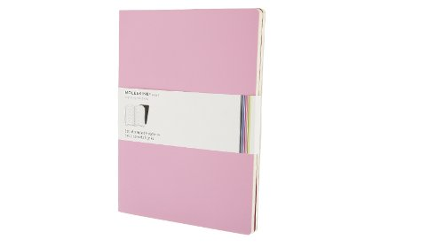 Moleskine Ruled Volant Notebook: Pink X-Large