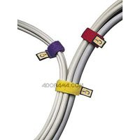 Caselogic CT-6 Self Attaching Cable Ties (Assorted Colors)