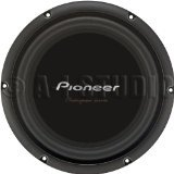 "Pioneer TS-W260D4 Champion Series 10"" subwoofer with dual 4-ohm voice coils"