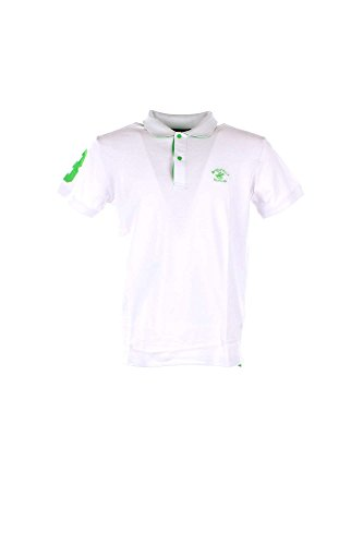 Polo Uomo Beverly Hills Polo Club BHPC1780 Bianco Primavera/Estate Bianco 2xl