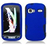 Aimo Wireless LGLM272PCPA002 Hybrid Armor Cheeze Case for LG Rumor Reflex/Freedom/Converse/Expression C395 - Retail Packaging - Blue