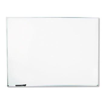 Universal 43624 - Dry-Erase Board, Melamine, 48 X 36, White, Satin-Finished Aluminum Frame-Unv43624