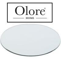 Round Mirror Plate 20cm