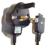 D600 SAMSUNG 3 PIN MAINS TRAVEL CHARGER FOR MOBILE PHONE .