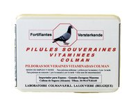 Colman Multivitamin pills Souveraines 100 pills. Preparation for racing pigeons. For Pigeons & Birds