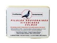 Colman Multivitamin pills Souveraines 100 pills. Preparation for racing pigeons. For Pigeons & Birds