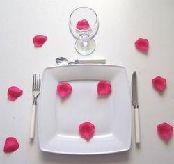 Mondial-fete - Sachet 100 pétales rose fuchsia -5 cm