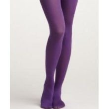 Missi 40 Denier Opaque Tights Bright Purple