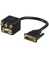 Microconnect 68736 - Adaptador para cable (DVI-I, RGB + SVGA)