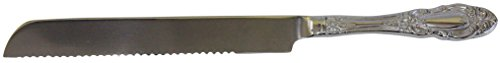 Majestic Giftware CKDS Challah Knife, 12-Inch, Duchess Silver