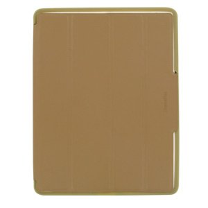 Xtrememac Ultra-Thin Folding Micro Folio with Intelligent Cover for iPad 2 or 3 (Latte) - Faux Leather