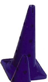 20 Hurdle Cone - Blue agility rocker hurdle set of 5