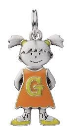 Initial Kid's Tag - Girl - G by Ganz
