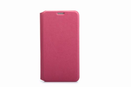 Flip Wallet Book Holster Leather Cover Carrying Case For Samsung Galaxy S5 - Pink