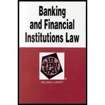 img - for Banking & Financial Institutions Law in a Nutshell (5th, 01) by Lovett, William A [Paperback (2000)] book / textbook / text book
