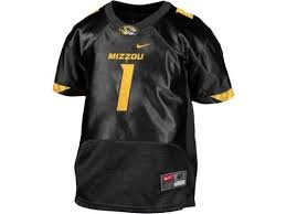 Officially Licensed NCAA Mizzou Tigers #1 Jersey Childrens Shirt by Nike