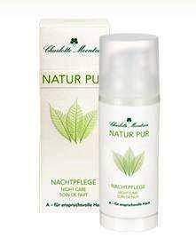 Charlotte Meentzen NATUR PUR A - Nachtpflege 50 ml für anspruchsvolle Haut