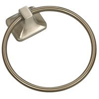 Mintcraft 3660-07-SOU Towel Ring, Brushed Nickel
